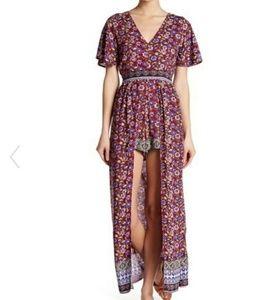 e71c9f216a6c Angie Dresses - Angie Floral Print Maxi Romper